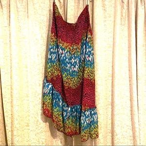 Lane Bryant Strapless Rayon Dress or Skirt 22/24